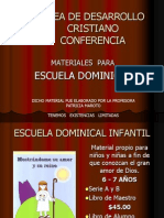 Materiales de Escuela Dominical Cam