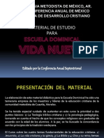 Materiales de Escuela Dominical Cas