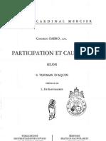 18 Partecipation et causalité