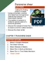 Transverse Shear
