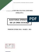 Plan de Auditoria Operativa