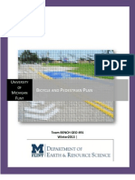 U of M-Flint Bike and Pedestrian Plan