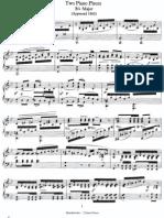 (2) F. Mendelssohn - 02 Piano Pieces