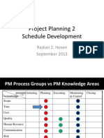 PM 03 Project Planning 2 - Schedule Development