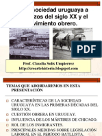 Sociedad Uruguaya a Comienzos Del Siglo XX