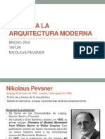 Crítica a la arquitectura moderna