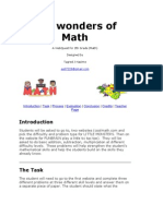 math webquesttemplate