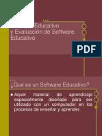 Software Educativo y Evaluacion