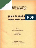 ŞEMS-ÜL MAARİF 2