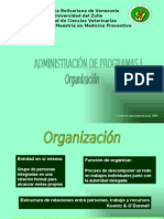 Principios de Organizacion