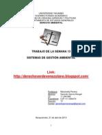 13.Trabajo Gerardo García.Sistemas de Gestión Ambiental