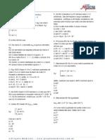 Matematica Determinantes Exercicios2