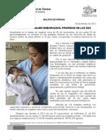 06/02/13 Germán Tenorio Vasconcelos Prioridad de los SSO, atención a la mujer embarazada