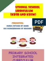 The National School Curriculum