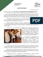 10/02/13 Germán Tenorio Vasconcelos DONTÓLOGOS PIEZA CLAVE EN LA PREVENCIÓN DE ENFERMEDADES SSO