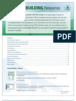 GreenBldg PubList Revised 2011 Web 508