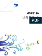 Samsung Galaxy Tab 2 7 0 P3110 user manual guide