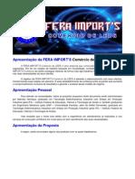 Catálogo FERA IMPORT'S