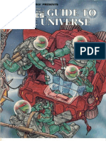 TMNT RPG - Guide to the Universe