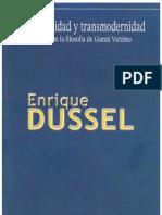 Dussel - Posmodernidad