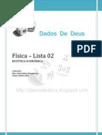 Saldanha - Física - Lista 02 (dinâmica)