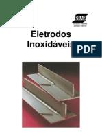 soldagem com eletrodos inoxidaveis