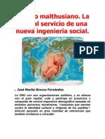 El mito malthusiano. La ONU al servicio de una nueva ingeniería social- José Martín Brocos Fernández