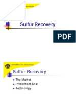 Sulfur Recovery