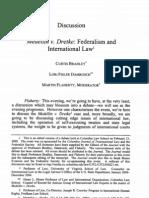 Medellin v. Dretke- Federalism and International Law
