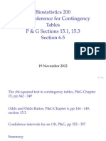 Unit 08 Contingency Tables