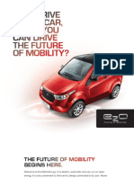 e 2 o Future of Mobility Brochure