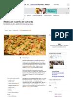 Receitas Supreme – Receita de lasanha de camarão