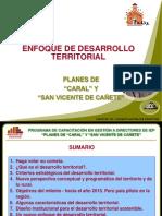 01 - Enfoque territorial - PLAN CAÑETE - HUACHO