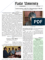 Shiv Nadar University Newsletter - April 2013