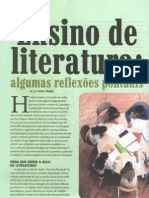 Ensino de literatura - algumas questões pontuais - Pedro Matias
