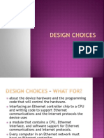 Design Choices - Ethernet