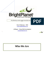Bright Planet Occupy Software