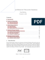 81177621 Computational Methods for Vibroacoustic Simulations