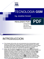 Tecnologia Gsm