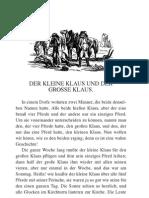 Der Kleine Klaus Und Der Gr