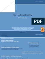 3W Vehicle Stability-A Case Study