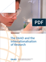 The Daad and the Internationalisation of Research