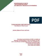 Casas-museu Em Portugal, museologiaporto, teses, dissertações