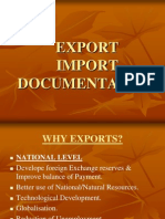 EXPORT IMPORT DOCUMENTATION.ppt