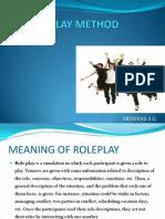 Role Play Method