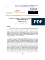Design of Optimal System -Level for Embedded Wireless Sensor Unit