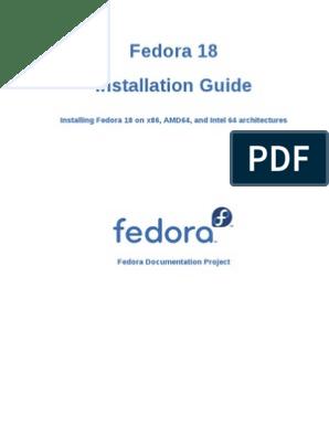 Fedora-18-Installation_Guide-en-US pdf | Booting | Fedora