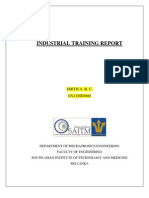 Industrial Training Report_sample