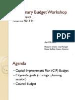 043013 Lakeport City Council Preliminary Budget Workshop