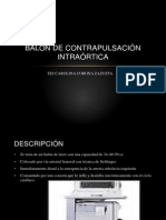 BALON DE CONTRAPULSACIÓN